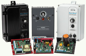 Variable Speed DC Drives Chassis and DC Motor Controls