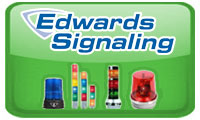 Edwards Signaling Complete line of electronic audible and visual signals