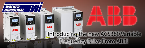 ABB ACS380 - Variable Frequency Drive from Walker Industrial