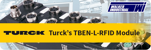 Turck's new RFID Interface Module with I/Os