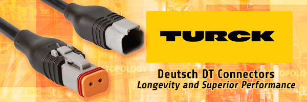 Rugged Mobile Equipment with TURCK's New Deutsch DT Connectors