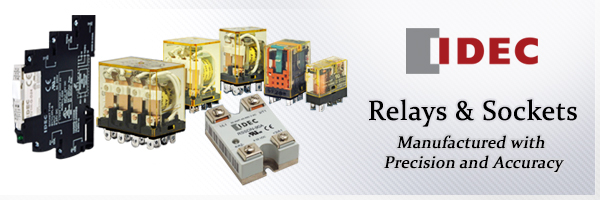 Precision and Quality with IDEC Relays & Sockets