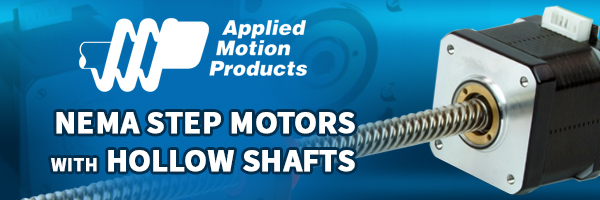 Innovative Hollow Shaft NEMA Step Motors for Challenging Applications