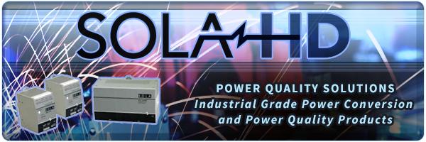 SolaHD: Total Power Quality Solutions