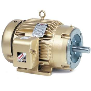 Cem3615t baldor 5hp 1750rpm 3ph 60hz 184tc 3643m for Motor baldor 20 hp