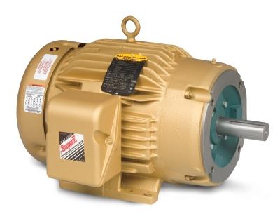 Cem4106t baldor 20hp 3520rpm 3ph 60hz 256tc 0940m for Baldor 15 hp motor