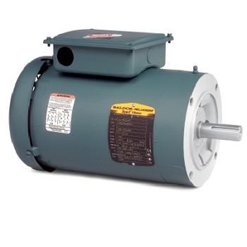 Veuhm3538 baldor 5hp 1750rpm 3ph 60hz 56c 3516m for 5 hp tefc motor