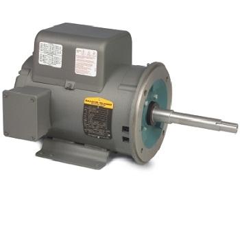 Wcl1409t baldor 5hp 3450rpm 1ph 60hz 184tcz 3634l open motor pump motors Baldor motor repair