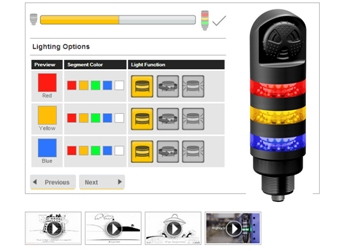 Banner Engineering's New TL50 Tower Light Configurator