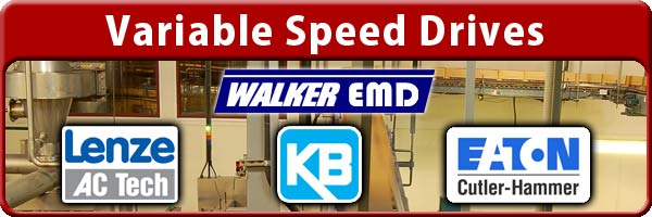 Variable Speed Drives In Stock!