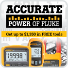 Get up to $1,350 in FREE Fluke tools. Order now!