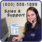 Telephone sales and application support. Call now!