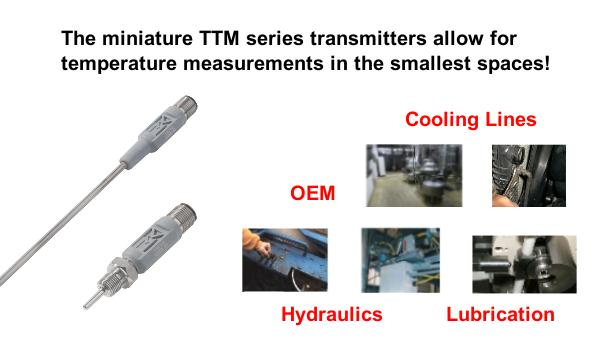 TURCK TTM Miniature Temperature Transmitter Applications
