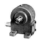 Worm Gear Reducer Model 418 Rugged Cast Iron Housing with SAE 2 Bolt 'A' Flange