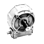 Worm Gear Reducer Model 460 Rugged Cast Iron Housing with SEA 2 Bolt 'A' Flange