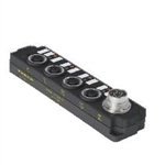 Turck 4MBM12-5-10C 4-port J-box; 2 signals per port; Integral cable (U-31406) 4MBM12510C