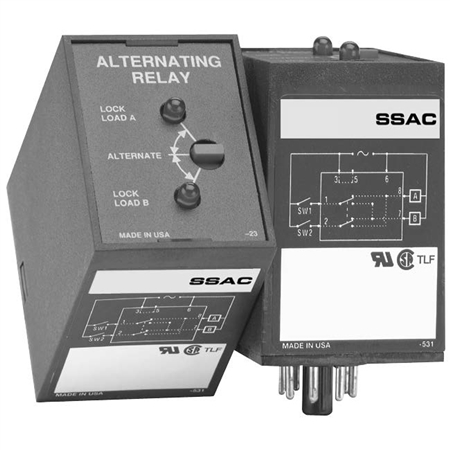 arp42s ssac alternating relay 120vac dpdt 11 pin with switch pump down relay circuit alternating relay schematic #42