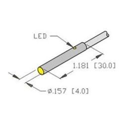 bi1 eh04 ap6x turck 4mm barrel sensor embeddable potted in 3 bi1 eh04 ap6x turck