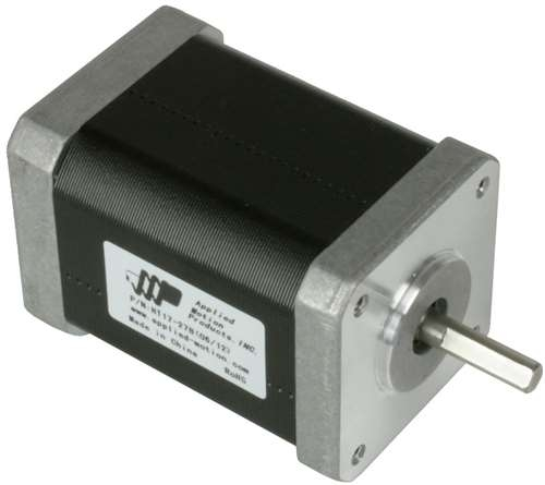 HT17-278D-WAA - Applied Motion Products NEMA 17 High Torque Double Shaft  Step Motor w/Encoder