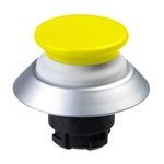NDLP30GB- Schmersal Yellow NDLP lighted pushbutton with white bellows