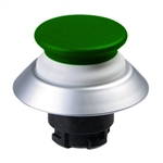 NDLP30GN- Schmersal Green NDLP lighted pushbutton with white bellows