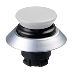 NDLP30GR/WS- Schmersal White NDLP lighted pushbutton with black bellows