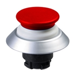 NDLP30RT- Schmersal Red NDLP lighted pushbutton with white bellows