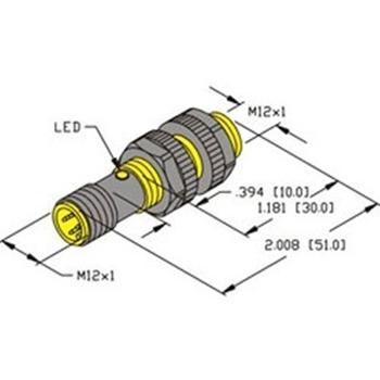 ni4 s12 ap6x h1141 turck 12mm barrel sensor nonembeddable rh walkerindustrial com Volvo D13 Engine Dielectric Constant Tables