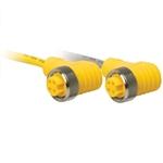 Turck Rkg 4.4T-6-Rsc 4.4T//S3060 4-Pole Male//Female Cord Set Rkg 4.4T-6-Rsc 4.4T//S3060